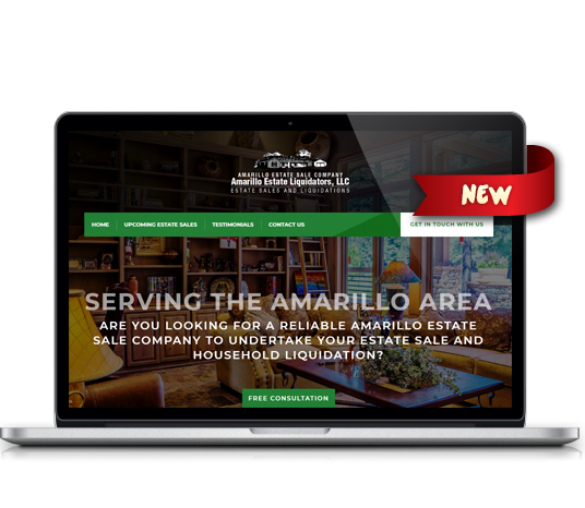 Amarillo Estate Liquidators - Amarillo Website Design, Amarillo Web Design, Amarillo Web Designers, Amarillo Webpage Designer