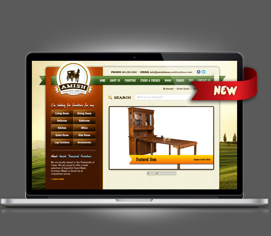 Amish Treasured Furniture - Amarillo Website Design, Amarillo Web Design, Amarillo Web Designers, Amarillo Webpage Designer