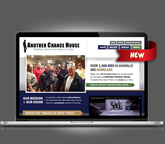 Another Chance House - Amarillo Website Design, Amarillo Web Design, Amarillo Web Designers, Amarillo Webpage Designer