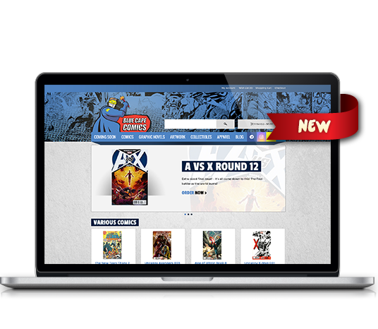 Blue Cape Comics - Amarillo Website Design, Amarillo Web Design, Amarillo Web Designers, Amarillo Webpage Designer