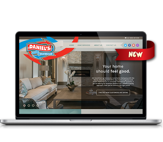 Daniel's Heating and Air - Amarillo Website Design, Amarillo Web Design, Amarillo Web Designers, Amarillo Webpage Designer