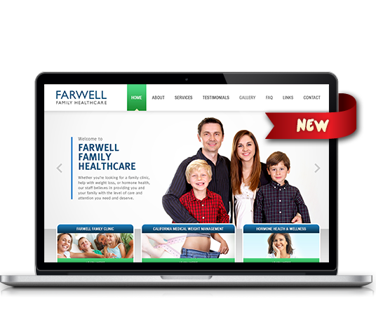 Farwell Family Healthcare - Amarillo Website Design, Amarillo Web Design, Amarillo Web Designers, Amarillo Webpage Designer
