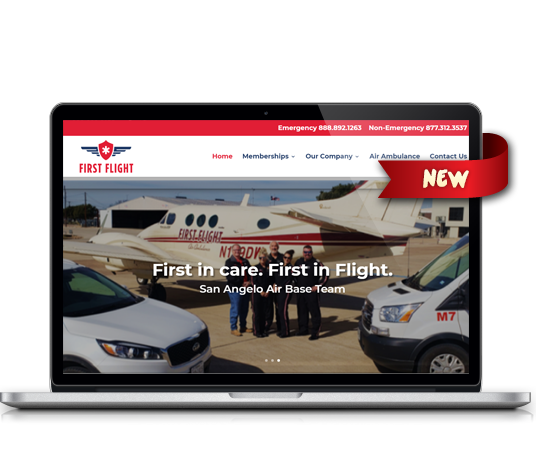 First Flight - Amarillo Website Design, Amarillo Web Design, Amarillo Web Designers, Amarillo Webpage Designer