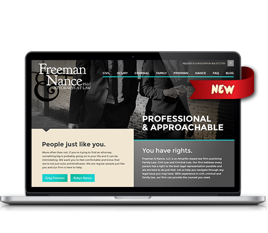 Freeman & Nance - Amarillo Website Design, Amarillo Web Design, Amarillo Web Designers, Amarillo Webpage Designer