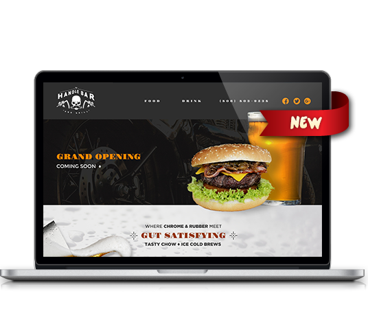 Handle Bar & Grill - Amarillo Website Design, Amarillo Web Design, Amarillo Web Designers, Amarillo Webpage Designer
