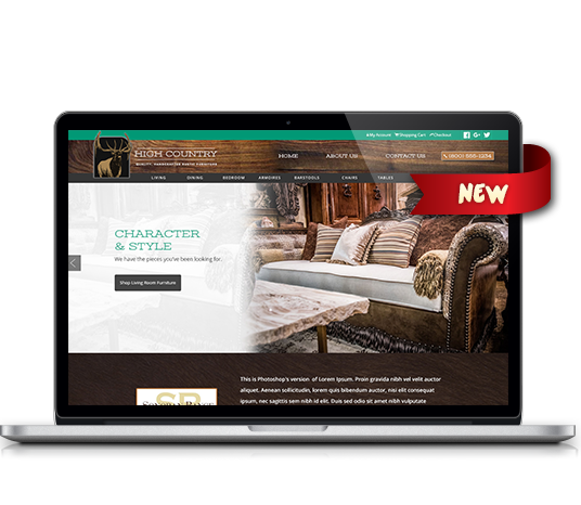High Country Furniture - Amarillo Website Design, Amarillo Web Design, Amarillo Web Designers, Amarillo Webpage Designer