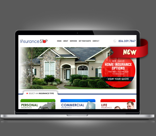 Insurance Stop - Amarillo Website Design, Amarillo Web Design, Amarillo Web Designers, Amarillo Webpage Designer