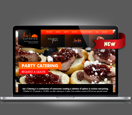 Joe's Catering - Amarillo Website Design, Amarillo Web Design, Amarillo Web Designers, Amarillo Webpage Designer