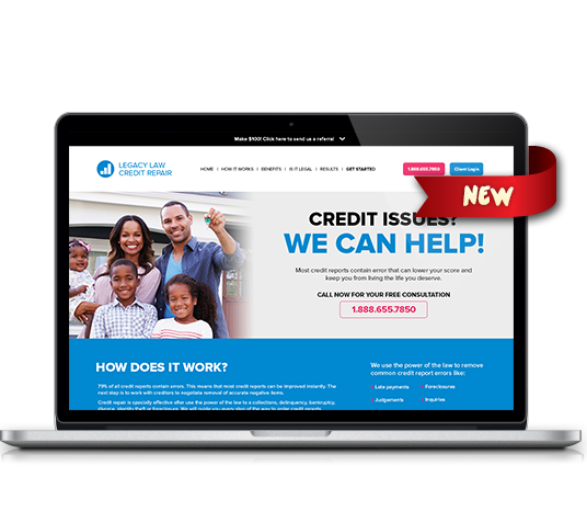 Legacy Law Credit Repair - Amarillo Website Design, Amarillo Web Design, Amarillo Web Designers, Amarillo Webpage Designer