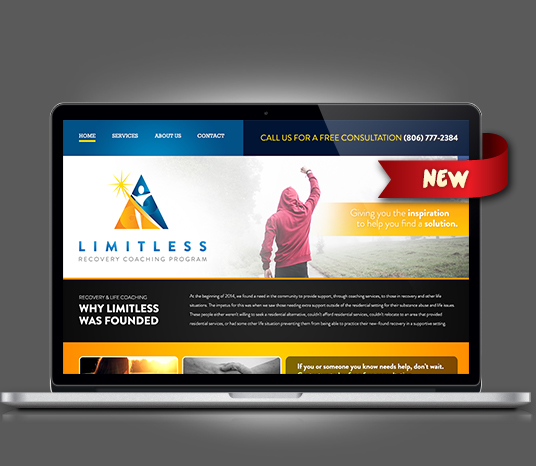 Limitless Recovery Solutions - Amarillo Website Design, Amarillo Web Design, Amarillo Web Designers, Amarillo Webpage Designer