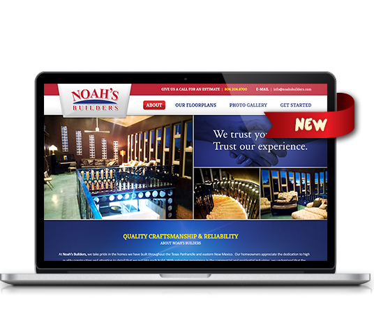 Noah's Builders - Amarillo Website Design, Amarillo Web Design, Amarillo Web Designers, Amarillo Webpage Designer