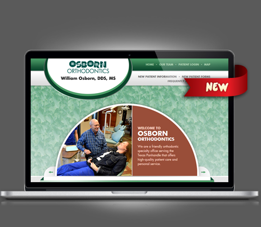Osborn Orthodontics - Amarillo Website Design, Amarillo Web Design, Amarillo Web Designers, Amarillo Webpage Designer
