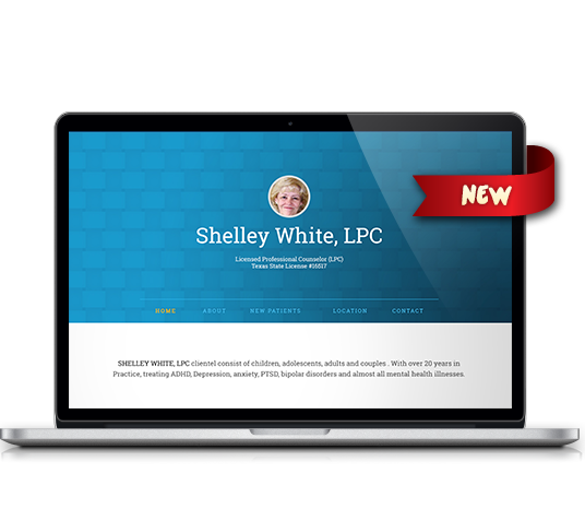 Shelley J White, LPC - Amarillo Website Design, Amarillo Web Design, Amarillo Web Designers, Amarillo Webpage Designer