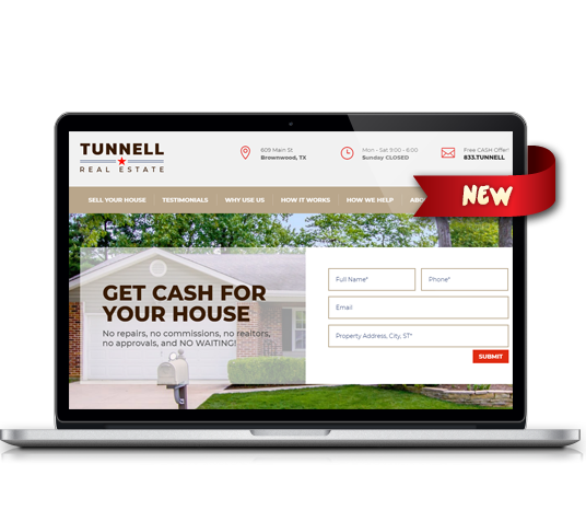 Tunnell Real Estate - Amarillo Website Design, Amarillo Web Design, Amarillo Web Designers, Amarillo Webpage Designer
