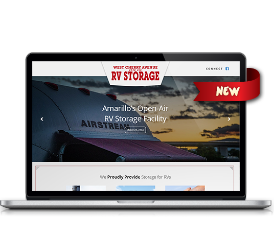 West Cherry Ave. RV Storage - Amarillo Website Design, Amarillo Web Design, Amarillo Web Designers, Amarillo Webpage Designer
