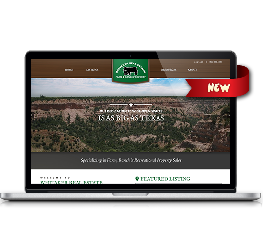 Whitaker Real Estate - Amarillo Website Design, Amarillo Web Design, Amarillo Web Designers, Amarillo Webpage Designer