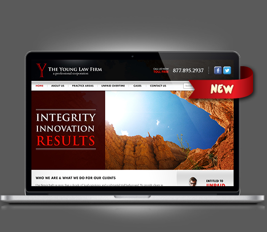 The Young Law Firm - Amarillo Website Design, Amarillo Web Design, Amarillo Web Designers, Amarillo Webpage Designer